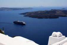 Free Cruise From Santorin Stock Photos - 20658023