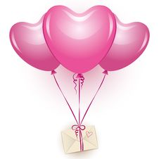 Free Pink Balloons Stock Images - 20658484