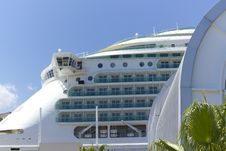 Luxury Liner Royalty Free Stock Photography