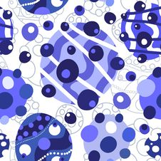 Blue And White Background Stock Photos