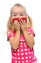 Free Valentines Day For Little Girl Stock Photo - 20660890