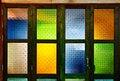 Free Native Thai Style Colorful Glass Windows Stock Photo - 20665960