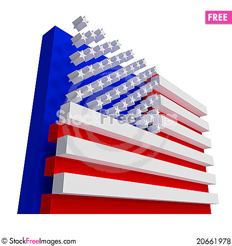 usa flag include clipping path free stock images