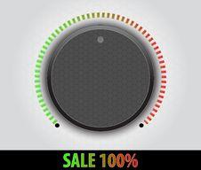 Free Control Knob Stock Image - 20660291