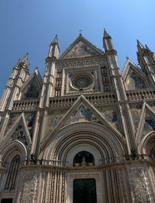 Free Dome Cathedral Orvieto In Umbria, Italy Stock Photos - 20660433