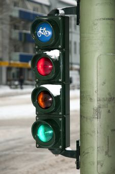 Free Traffic Lights Royalty Free Stock Images - 20660569