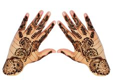 Free Hands Henna Design Stock Image - 20660671