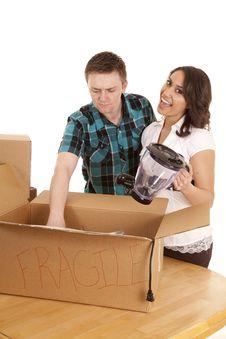 Free Unpacking Box Royalty Free Stock Image - 20661166