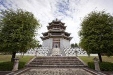 Free White China Tower Stock Photography - 20662342
