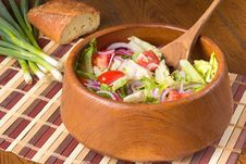 Free Tossed Salad Royalty Free Stock Photos - 20662598