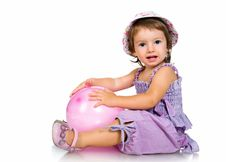 Free Cute Little Girl Close-up Royalty Free Stock Image - 20662876