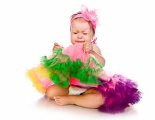 Free Little Girl In Fairy Costume Stock Photo - 20662910