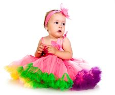 Free Little Girl In Fairy Costume Stock Photography - 20662912