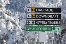 Free Ski Resort Royalty Free Stock Photos - 20663378