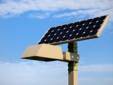 Free Solar Streetlight And Cloud Royalty Free Stock Photos - 20663478