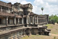 Free Ancient Khmer Building Royalty Free Stock Photos - 20663498