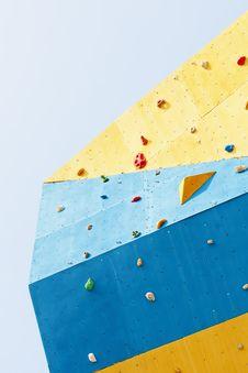 Free Rock Climbing Wall Royalty Free Stock Photos - 20663858