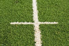 Free Football Touchline Stock Image - 20663891