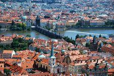 Free The Vltava In Prague Stock Photos - 20664043