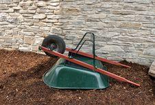 Free Green Wheelbarrow Stock Photography - 20664342