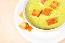 The Broccoli Soup Stock Photos