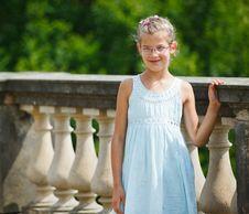 Free Beautiful Girl Walking In A Park Stock Photos - 20664513