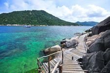 Free Viewpoint Koh Nang Yuan Stock Photography - 20665632