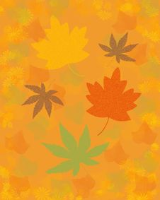 Free Autumn Leaves Background Royalty Free Stock Photo - 20665935
