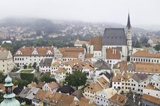 Free Cityscape Of Cesky Krumlov Royalty Free Stock Image - 20666056