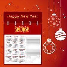 Free Calendar For 2012. Stock Photos - 20666793