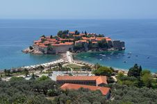 Free Sveti Stefan Island Stock Photos - 20667043