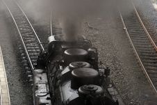 Free Close-up Steam Train Stock Image - 20667111
