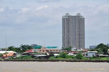 Free Building Riverside Chao Phya Stock Photography - 20667122