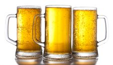 Free Three Mug Of Beer Stock Photography - 20667182