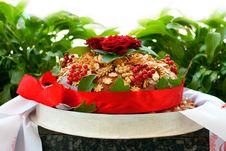 Free Traditional Ukrainian Wedding Bread Stock Images - 20667264