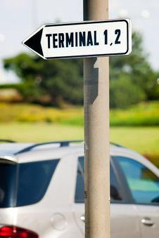 Free Terminals Sign Royalty Free Stock Photo - 20667565