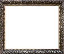 Free Wrought Gold Frame Isolated Stock Images - 20667764