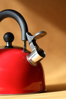 Free Red Kettle Stock Image - 20667811