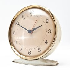 Free Antique Vintage Clock Alarm Royalty Free Stock Photography - 20668147