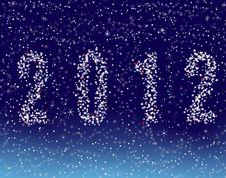 Free Happy New Year 2012 Royalty Free Stock Photo - 20668375