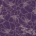 Free Seamless Floral Texture Royalty Free Stock Images - 20679169