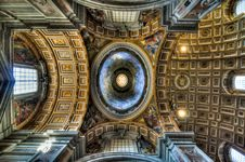 Free Inside St. Peter - Vatican City Royalty Free Stock Image - 20670046