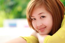 Free Smiling Asian Woman Stock Photography - 20670152