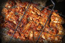 Free Grilled Wings Stock Image - 20670721