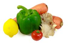 Free Mixed Vegetables Royalty Free Stock Photo - 20671005