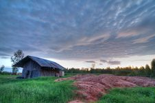 Free Coop In The Sunset Background (HDR) Stock Photos - 20671613