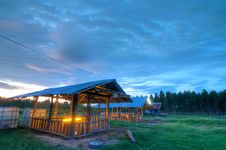 Free Sty In The Sunset Background (HDR) Stock Photography - 20671672