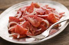 Tomato Salad Royalty Free Stock Photography