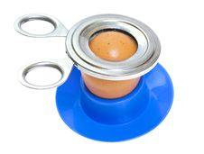 Free Soft-boiled Egg In The Stand Stock Images - 20672484
