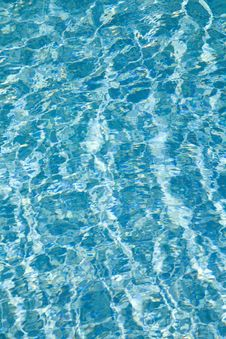 Free Water In The Swimming Pool Royalty Free Stock Images - 20673219